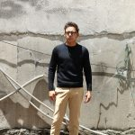 ZANONE (ザノーネ) Crew Neck Sweater (クルーネック セーター) VIRGIN WOOL 100% ミドルゲージ ウールニット セーター NAVY (ネイビー・Z1375) made in italy (イタリア製) 2018 秋冬新作のイメージ