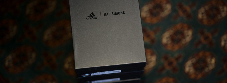 adidas by RAF SIMONS (アディダス バイ ラフシモンズ) RS DETROIT RUNNER (RS デトロイト ランナー) ダッド スニーカー CBLACK/CBLACK/CBLACK (ブラック) 2018のイメージ