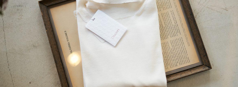 Cruciani (クルチアーニ) Silk Cashmere Turtle Neck Sweater (シルクカシミヤ タートルネック セーター) ハイゲージ シルクカシミヤニット セーター OFF WHITE (オフホワイト・120A) made in italy (イタリア製) 2018 秋冬新作のイメージ