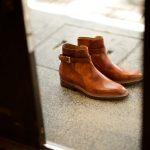 ENZO BONAFE (エンツォボナフェ) ART.EB-13 Jodhpur boots BONAUDO MUSEUM CALF LEATHER ボナウド社ミュージアムカーフレザー ジョッパーブーツ NEW GOLD (ニューゴールド) made in italy (イタリア製) 2019 春夏のイメージ