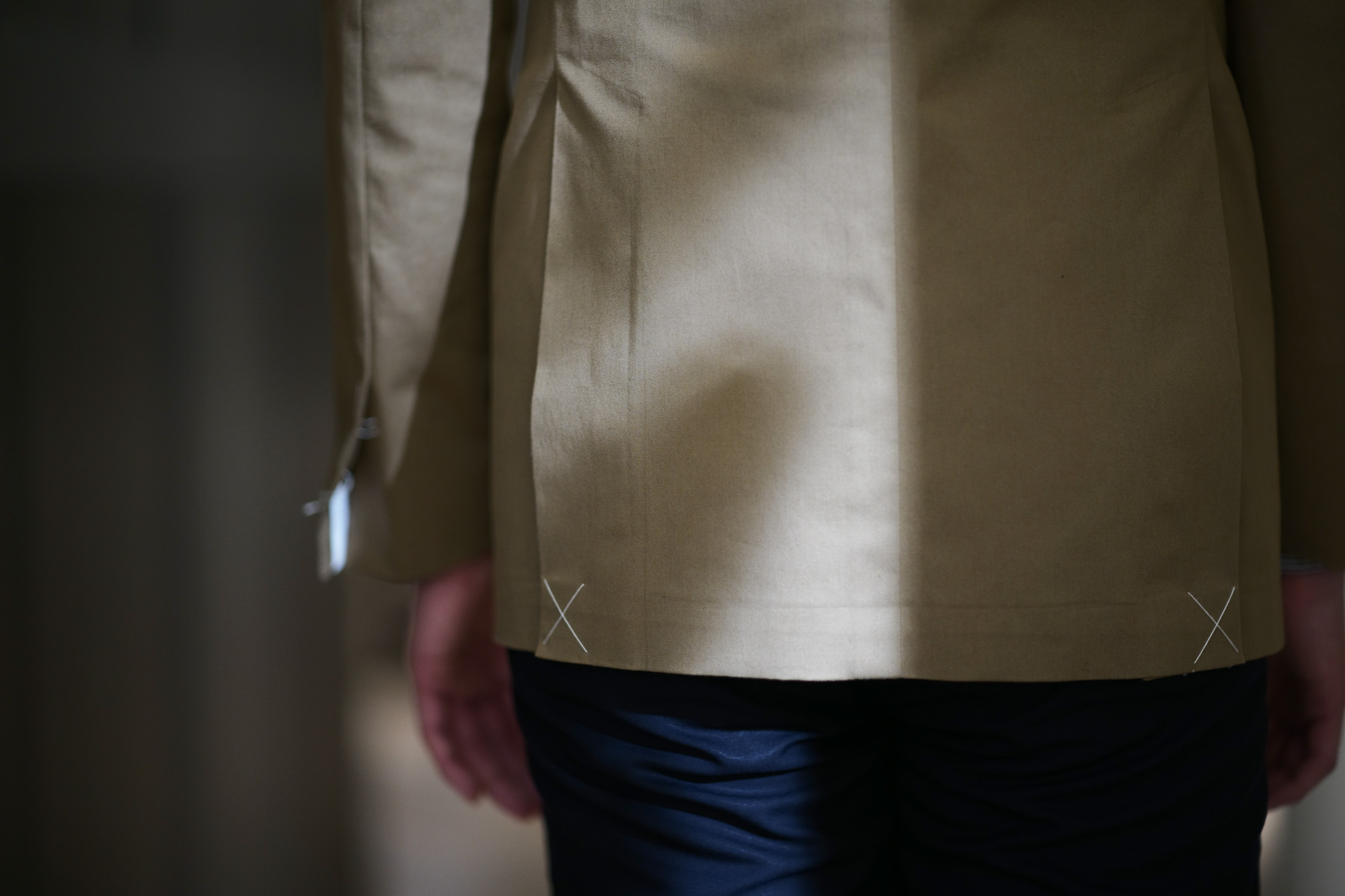 De Petrillo / デ・ペトリロ (2019 春夏 メイン 展示会) ジャケット スーツ チノスーツ チノ素材 コットン 名古屋 Alto e Diritto アルト エ デリット コーディネート alto e diritto アルトエデリット
