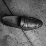 ENZO BONAFE (エンツォボナフェ) ART. EB-08 Crocodile Coin Loafer (クロコダイル コイン ローファー) Mat Crocodile Leather マット クロコダイル レザー ドレスシューズ ローファー NERO (ブラック) made in italy (イタリア製) 2019 春夏 【ご予約受付開始】のイメージ
