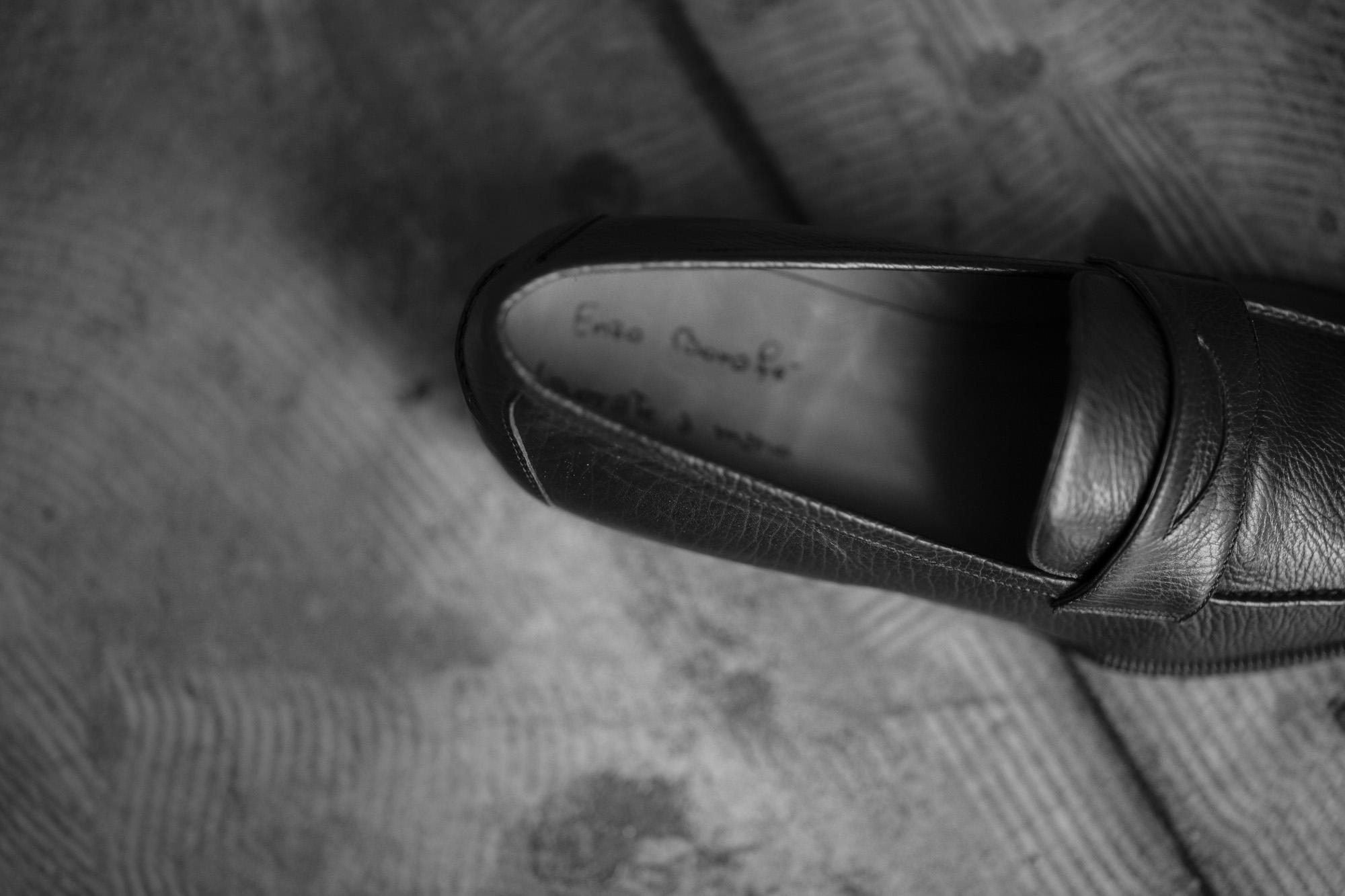 ENZO BONAFE(エンツォボナフェ) ART. EB-08 Coin Loafer コインローファー Crocodile クロコダイル エキゾチックレザー ドレスシューズ ローファー BLACK・999(ブラック・999) made in italy (イタリア製) 2019 春夏 【ご予約受付開始】 愛知 名古屋 enzobonafe エンツォボナフェ eb08 ローファー zodiac nagoya alto e diritto altoediritto アルトエデリット コードバン 5,5.5,6,6.5,7,7.5,8,8.5,9,9.5