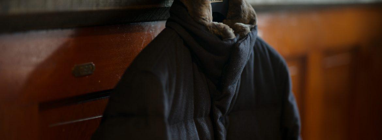 HERNO(ヘルノ) PI0439U Silk Cashmere Down coat (シルク カシミア ダウン コート) PIACENZA (ピアツェンツァ) DROP GLIDE NYLON ULTRALIGHT 撥水 シルク カシミア ダウン コート NAVY (ネイビー・9200) Made in italy (イタリア製) 2018 秋冬新作のイメージ