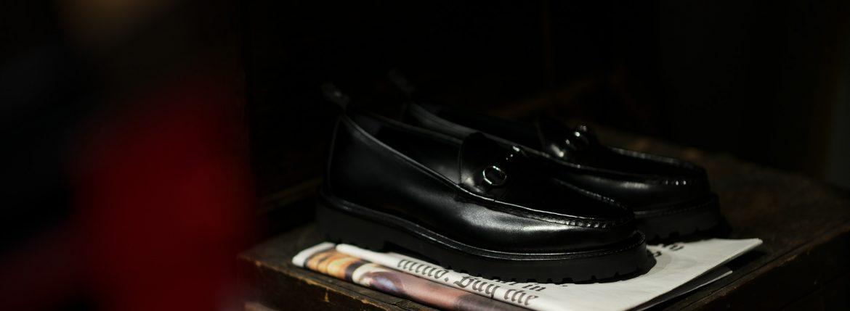 WH (ダブルエイチ) WHZ-0504 Bit Loafer (干場氏 別注 店舗限定 スペシャル モデル) TOOL-442 Last (トゥルー 442 ラスト) ANNONAY Vocalou Calf Leather ビットローファー ALL BLACK (オールブラック・BLK) MADE IN JAPAN(日本製) 2018秋冬 【限定スペシャルモデル】【本日よりご予約開始します】のイメージ