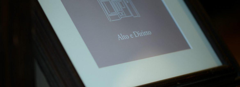 2018.9.13 Thu /// ZODIAC → Alto e Dirittoのイメージ