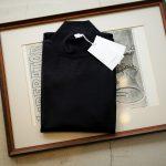 Cruciani (クルチアーニ) Cashmere Mock Neck Sweater (カシミヤ モックネック セーター) Cashmere 100% ハイゲージ カシミヤニット モックネック セーター NAVY (ネイビー・5544H) made in italy (イタリア製) 2018 秋冬新作のイメージ