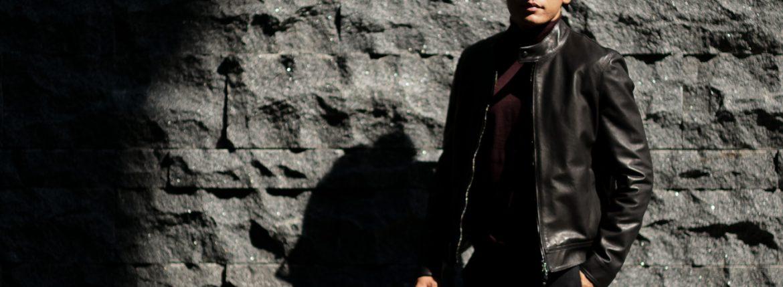 EMMETI(エンメティ) JURI(ユリ) Lambskin nappa シングルライダース レザージャケット NERO (ブラック) made in italy (イタリア製) 2018 秋冬 【第2便ご予約受付中】【第3便ご予約受付中】のイメージ
