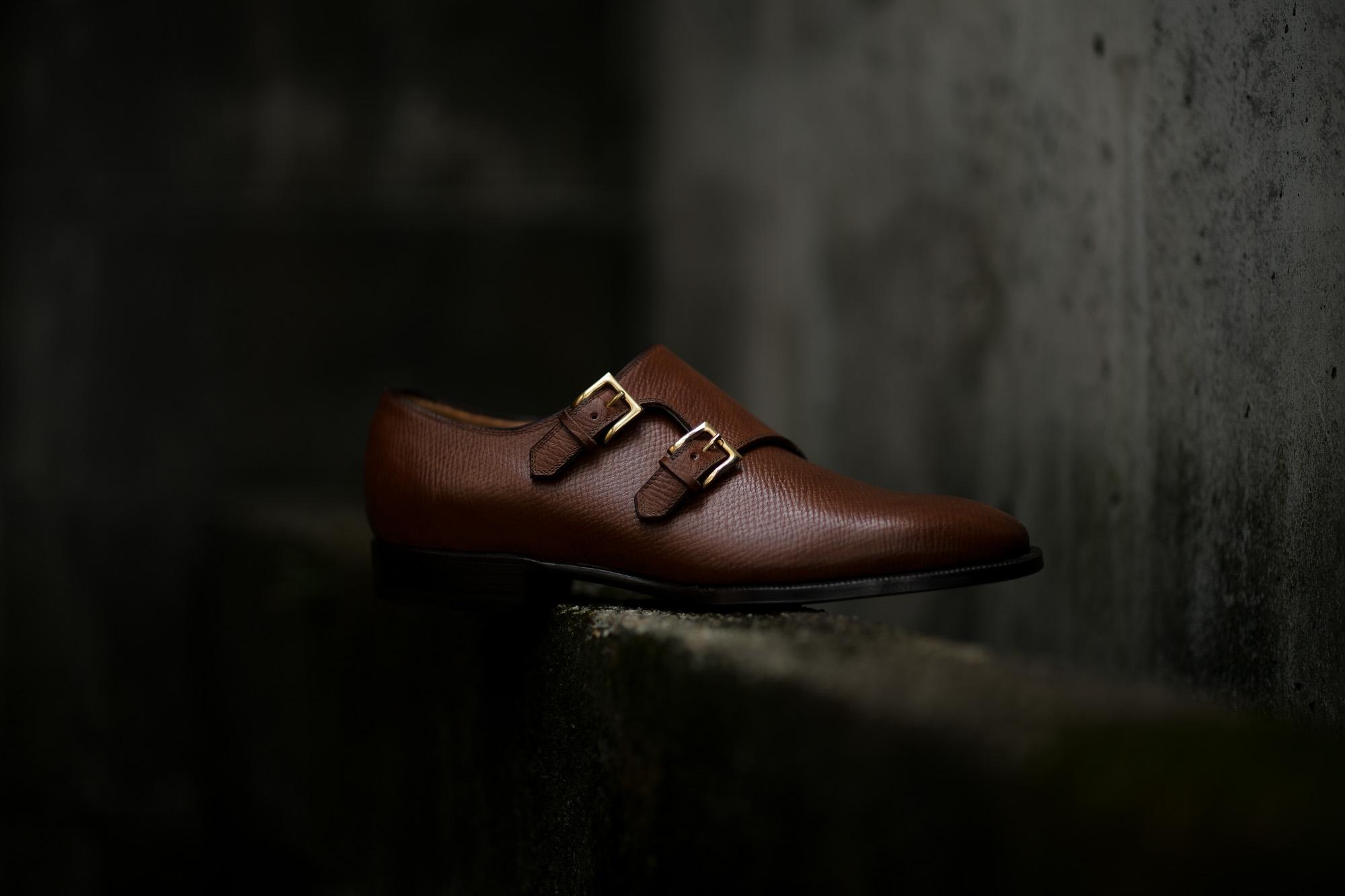 ENZO BONAFE(エンツォボナフェ) EB-36 Double Monk Strap Shoes INCA Leather ダブルモンクストラップシューズ NERO (ブラック) made in italy (イタリア製) 2018 秋冬 【Special Model】【ご予約受付中】enzobonafe eb36 ダブルモンク 愛知 名古屋 Alto e Diritto アルト エ デリット ダブモン