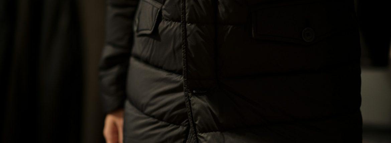 HERNO(ヘルノ) PI0475U N-3B Nylon Down Jacket (ナイロン ダウン ジャケット) POLAR-TECH (ポーラテック) 撥水 ナイロン ダウン ジャケット BLACK (ブラック・9300) 2018 秋冬新作のイメージ