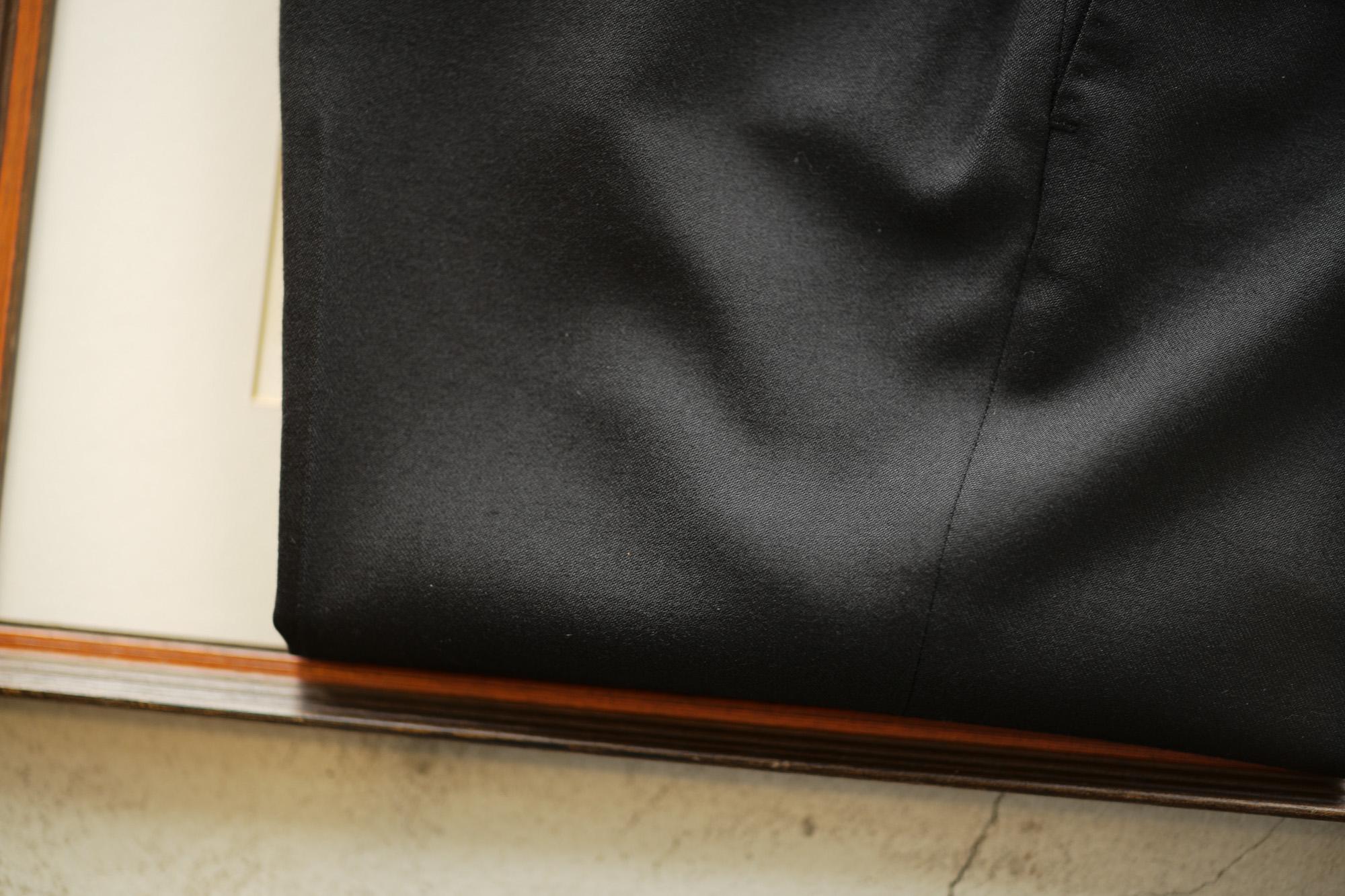 INCOTEX (インコテックス) N35 SLIM FIT (1NG035R) TECHNO FLANNEL URBAN TRAVELLER (テクノ フランネル アーバン トラベラー) ストレッチ ウォッシャブル フランネル ウール スラックス BLACK (ブラック・990) 2018 秋冬新作 incotex alto e diritto altoediritto アルトエデリット グレスラ グレースラックス 愛知 名古屋 セレクトショップ 洋服屋
