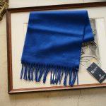 Johnstons (ジョンストンズ) WA16 MUFFLER SCARF Cashmere 100% カシミア マフラー Bright Blue (ブライトブルー・SD0404) Made in Scotland (スコットランド製) 2018 秋冬新作のイメージ