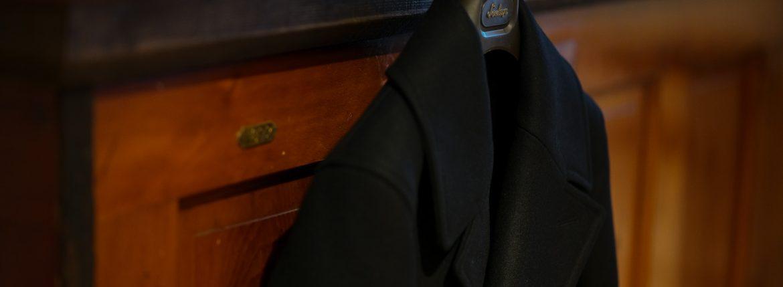 Sealup(シーラップ) GENOVA(ジェノバ) 50002 7591 01 メルトンウール サーモアライニング ロングPコート Pコート ロングピーコート BLACK(ブラック・36)  MADE IN ITALY(イタリア製) 2018 秋冬 【第1便入荷しました】のイメージ