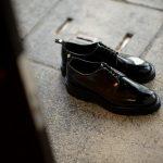 WH (ダブルエイチ) WHZ-0010 Cordovan Plane Toe Shoes (干場氏 スペシャル Zモデル) Birdie Last (バーディラスト) Shell Cordovan シェルコードバンレザー プレーントゥシューズ BLACK (ブラック) MADE IN JAPAN (日本製) 2019 秋冬 【Special限定モデル】【7月27日発売分】【ご予約受付中】のイメージ