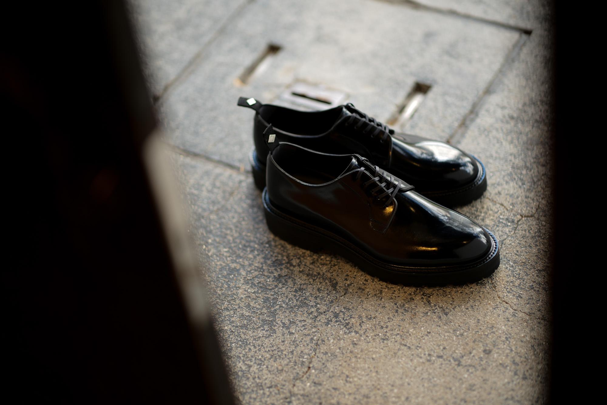 WH (ダブルエイチ) WHZ-0010 Cordovan Plane Toe Shoes (干場氏 スペシャル Zモデル) Birdie Last (バーディラスト) Shell Cordovan シェルコードバンレザー プレーントゥシューズ BLACK (ブラック) MADE IN JAPAN (日本製) 2018 秋冬 【Special限定モデル】【12月01日発売分】【ご予約受付中】愛知 名古屋 alto e diritto altoediritto アルトエデリット
