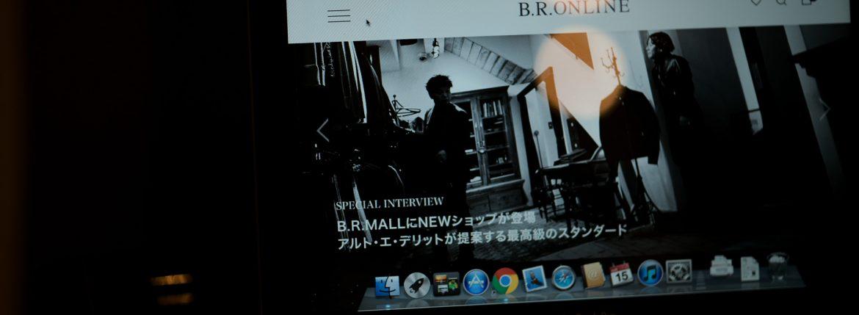 B.R.ONLINE // Alto e Diritto SPECIAL INTERVIEWのイメージ