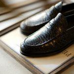 ENZO BONAFE (エンツォボナフェ) ART.3713 Coin Loafer コインローファー Crocodile クロコダイル エキゾチックレザーシューズ COCCO NERO (ブラック) made in italy (イタリア製) 2018秋冬新作のイメージ