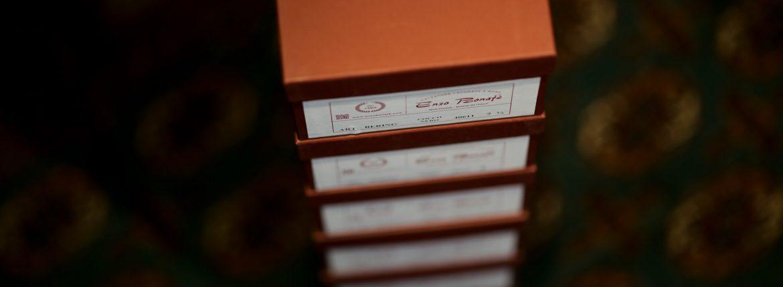 ENZO BONAFE(エンツォボナフェ) BERING(ベーリング) Crocodile クロコダイル ノルベジェーゼ製法 Uチップシューズ エキゾチックレザーシューズ COCCO NERO (ブラック)  made in italy(イタリア製) 2018秋冬新作のイメージ