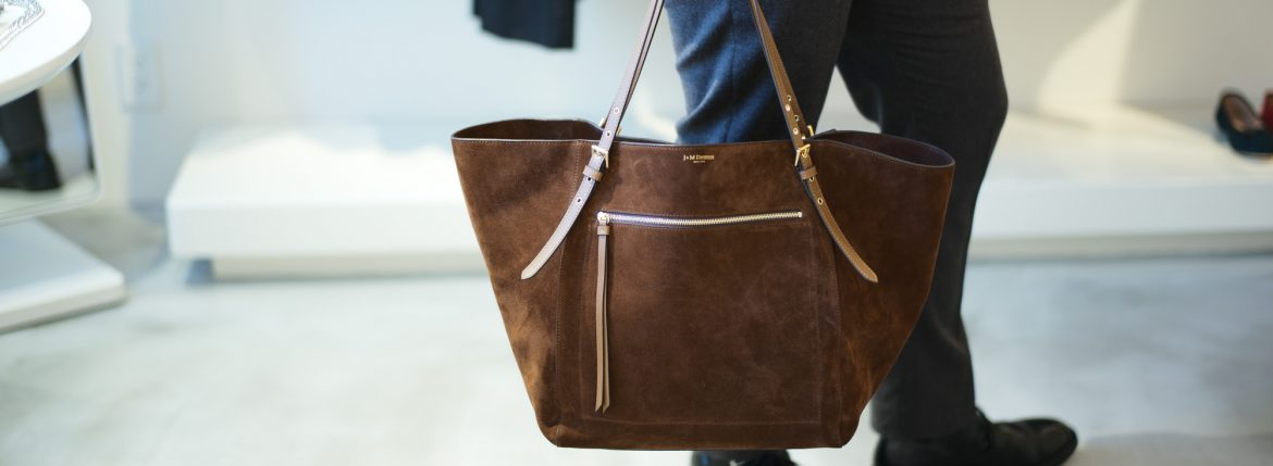 J&M DAVIDSON Tote Bag 01676 Brown // 2018 秋冬新作のイメージ