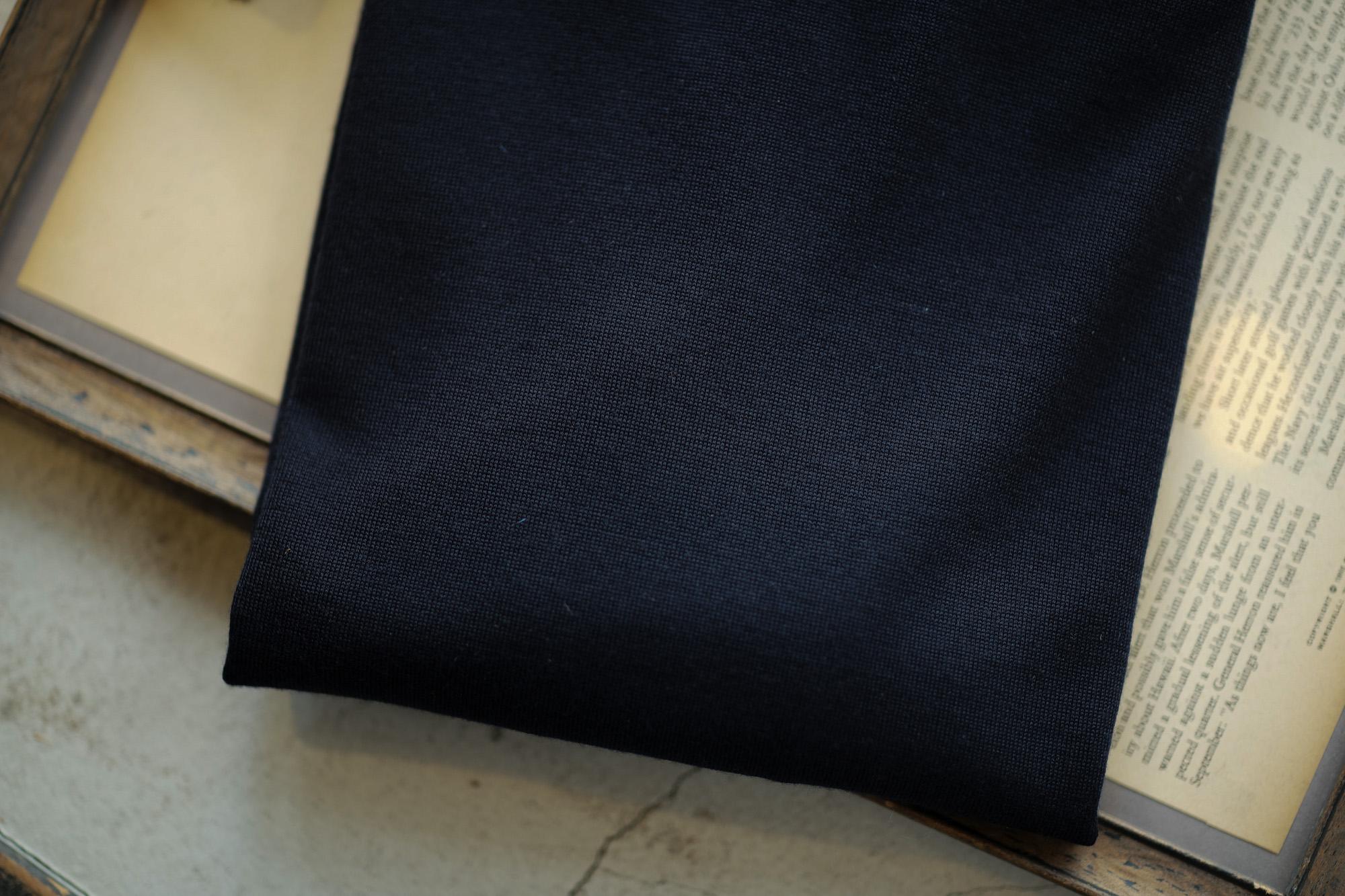 JOHN SMEDLEY (ジョンスメドレー) IMPERIAL KASHMIR (カシミアシリーズ) ARLINGTON (アーリントン) CASHMERE × Merino Wool (カシミア × メリノウール) 30ゲージ カシミアウール タートルネックセーター MIDNIGHT (ミッドナイト) Made in England (イギリス製) 2018 秋冬新作 johnsmedey カシミヤ 愛知 名古屋 alto e diritto altoediritto アルトエデリット