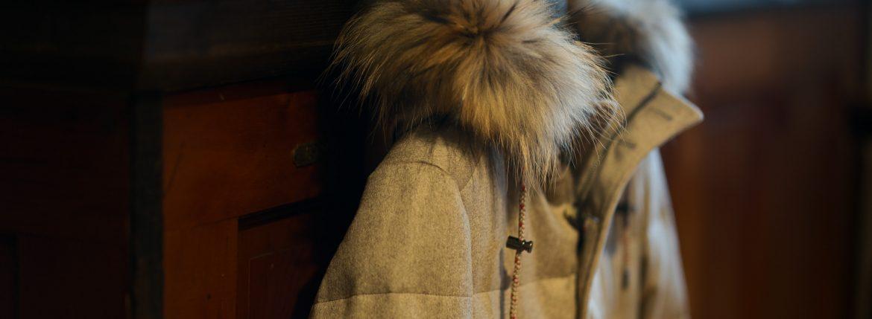 KIRED(キーレッド) ANIENE 2 (アニエーネ 2) CARLO BARBERA (カルロ バルベラ) カシミア ダウンコート BEIGE (ベージュ・05) Made in italy (イタリア製) 2018 秋冬新作のイメージ