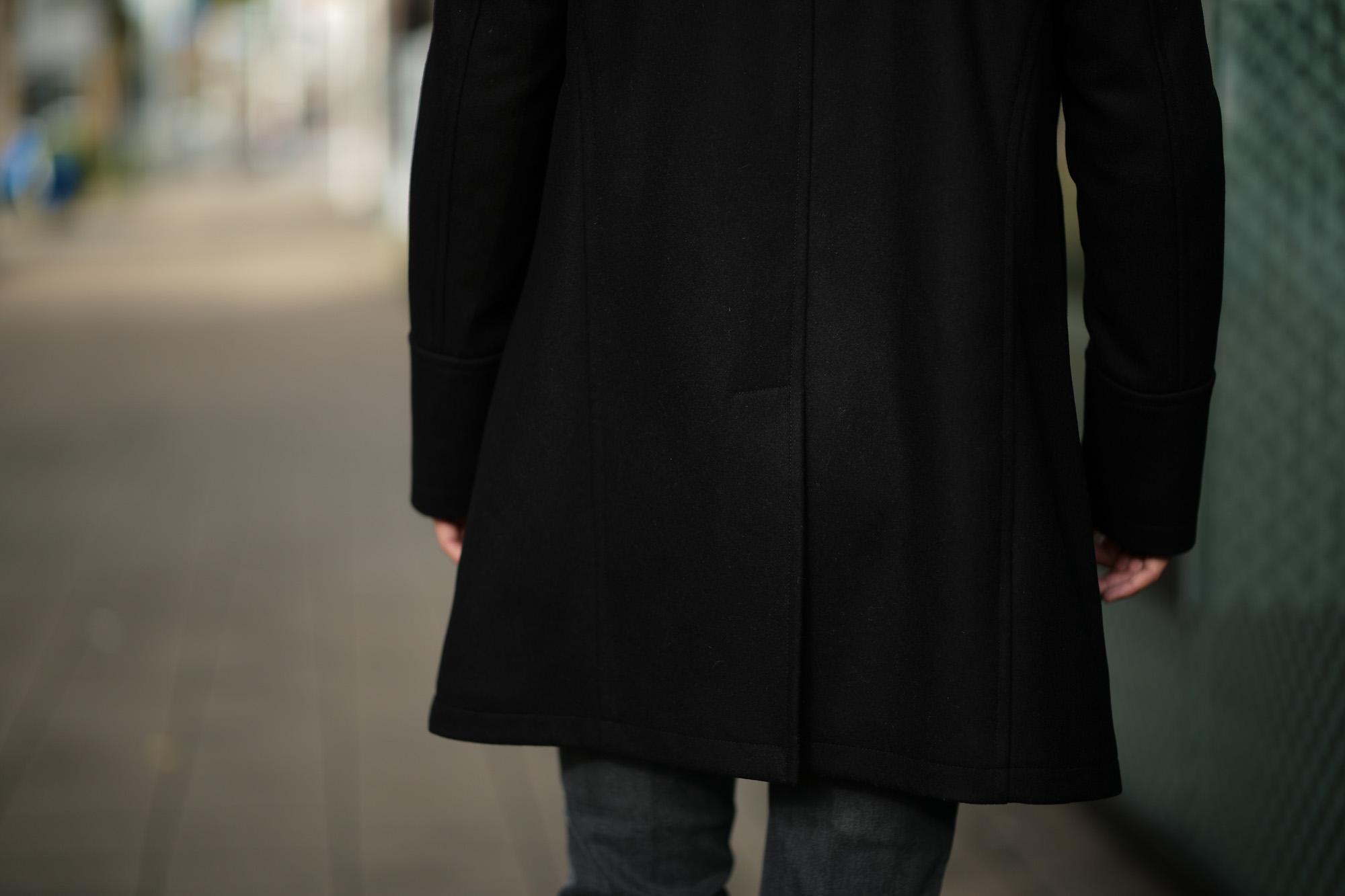 Sealup(シーラップ) GENOVA(ジェノバ) 50002 7591 01 メルトンウール サーモアライニング ロングPコート Pコート ロングピーコート BLACK(ブラック・36)  MADE IN ITALY(イタリア製) 2018 秋冬新作 愛知 名古屋 Alto e Diritto アルト エ デリット alto e diritto アルトエデリット