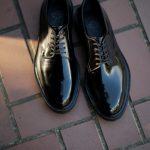 WH (ダブルエイチ) WHZ-0010 Cordovan Plane Toe Shoes (干場氏 スペシャル Zモデル) Birdie Last (バーディラスト) Shell Cordovan シェルコードバンレザー プレーントゥシューズ BLACK (ブラック) MADE IN JAPAN (日本製) 2018 秋冬 【Special限定モデル】【12月01日発売分】【ご予約受付中】のイメージ