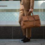 ACATE(アカーテ)OSTRO(オストロ) , OSTRO-M(オストロM)  Montblanc leather(モンブランレザー) トートバック レザーバック CUOIO(キャメル),NOTE(ネイビー),NERO(ブラック),AZZURO(サックス),ROSSO(レッド),TAUPE(ベージュ) MADE IN ITALY(イタリア製) 2019 秋冬【ご予約受付中】のイメージ