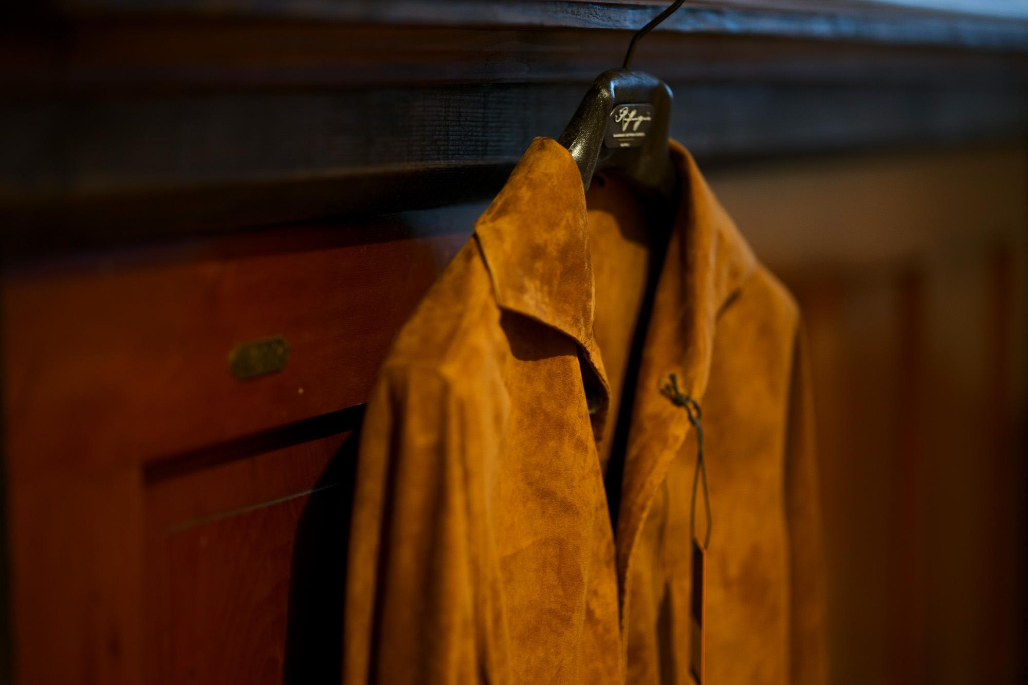 Alfredo Rifujio (アルフレード リフージオ) SS326 CAMOSCIO Summer Suede Leather Shirts サマースウェード レザーシャツ CAMEL (キャメル) made in italy (イタリア製) 2019 春夏 【ご予約受付中】alfredorifujio アルフレードリフージオ 愛知 名古屋 Alto e Diritto アルト エ デリット alto e diritto アルトエデリット レザージャケット 素肌にレザー 42,44,46,48,50,52