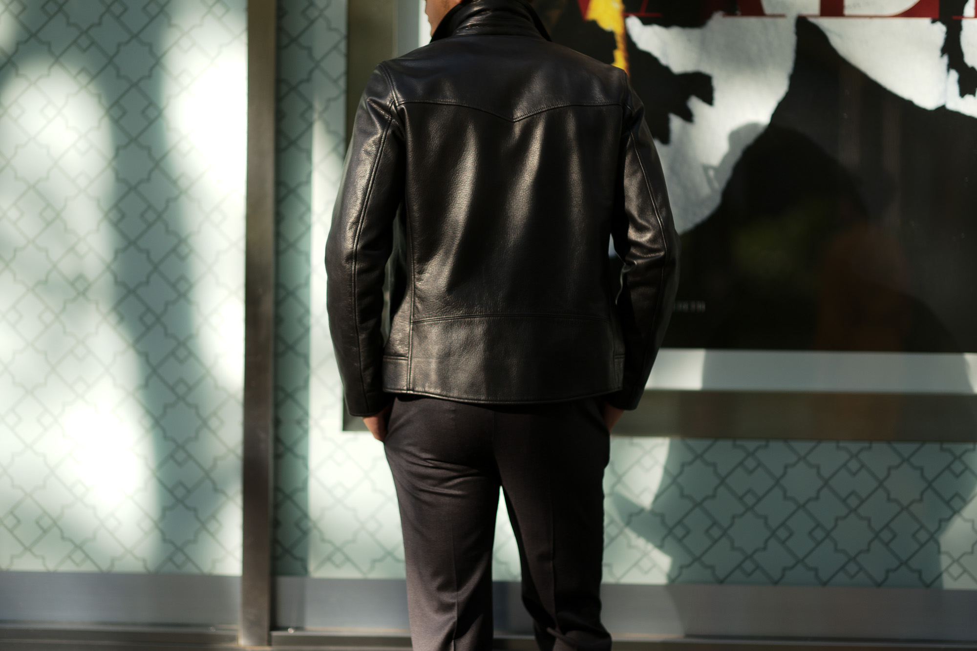 Cuervo (クエルボ) Satisfaction Leather Collection (サティスファクション レザー コレクション) TOM (トム) BUFFALO LEATHER (バッファロー レザー) シングル ライダース ジャケット BLACK (ブラック) MADE IN JAPAN (日本製) 2019 春夏【ご予約受付中】クエルボ レザージャケット 愛知 名古屋 alto e diritto アルトエデリット セレクトショップ