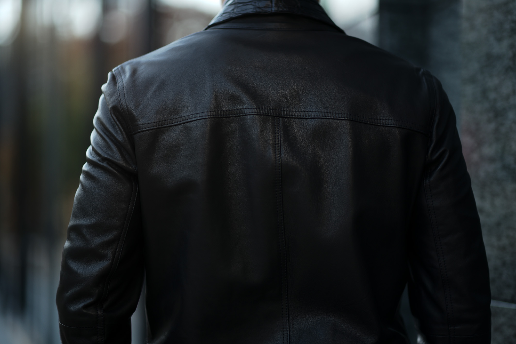 EMMETI (エンメティ) JAXON COCCODRILLO (ジャクソン コッコドリッロ) Lambskin Nappa Leather × Crocodile Leather ラムナッパレザー × クロコダイルレザー ジャケット NERO (ブラック・190/1) Made in italy (イタリア製) 2019 春夏 【ご予約開始】emmeti エンメティ 愛知 名古屋 Alto e Diritto アルト エ デリット