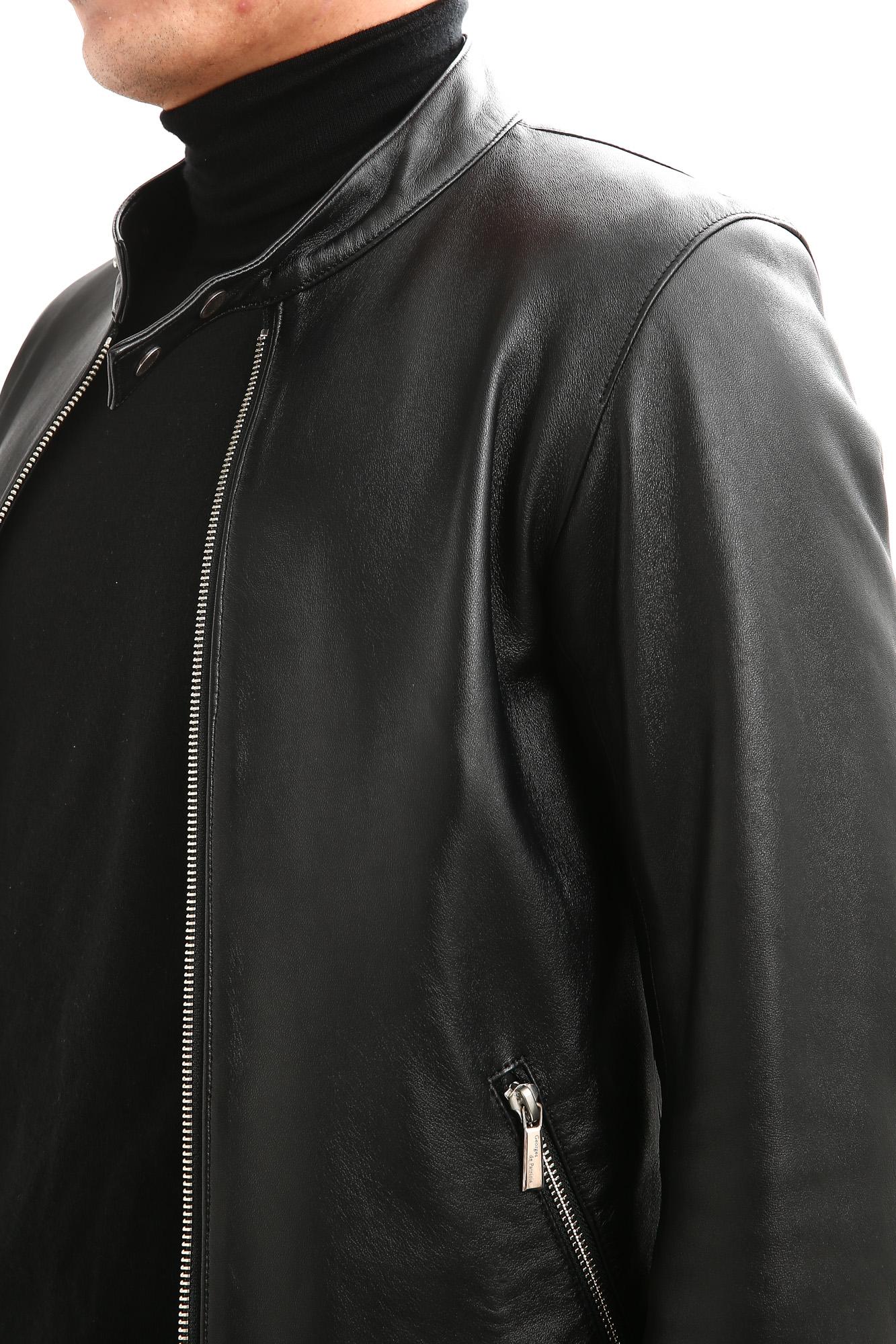 Georges de Patricia (ジョルジュ ド パトリシア) Carrera (カレラ) 925 STERLING SILVER (925 スターリングシルバー) Super Soft Sheepskin シングル ライダース ジャケット NOIR (ブラック) 2018 秋冬新作 georgesdepatricia ジョルジュドパトリシア カレラ ポルシェ 愛知 alto e diritto アルトエデリット altoediritto