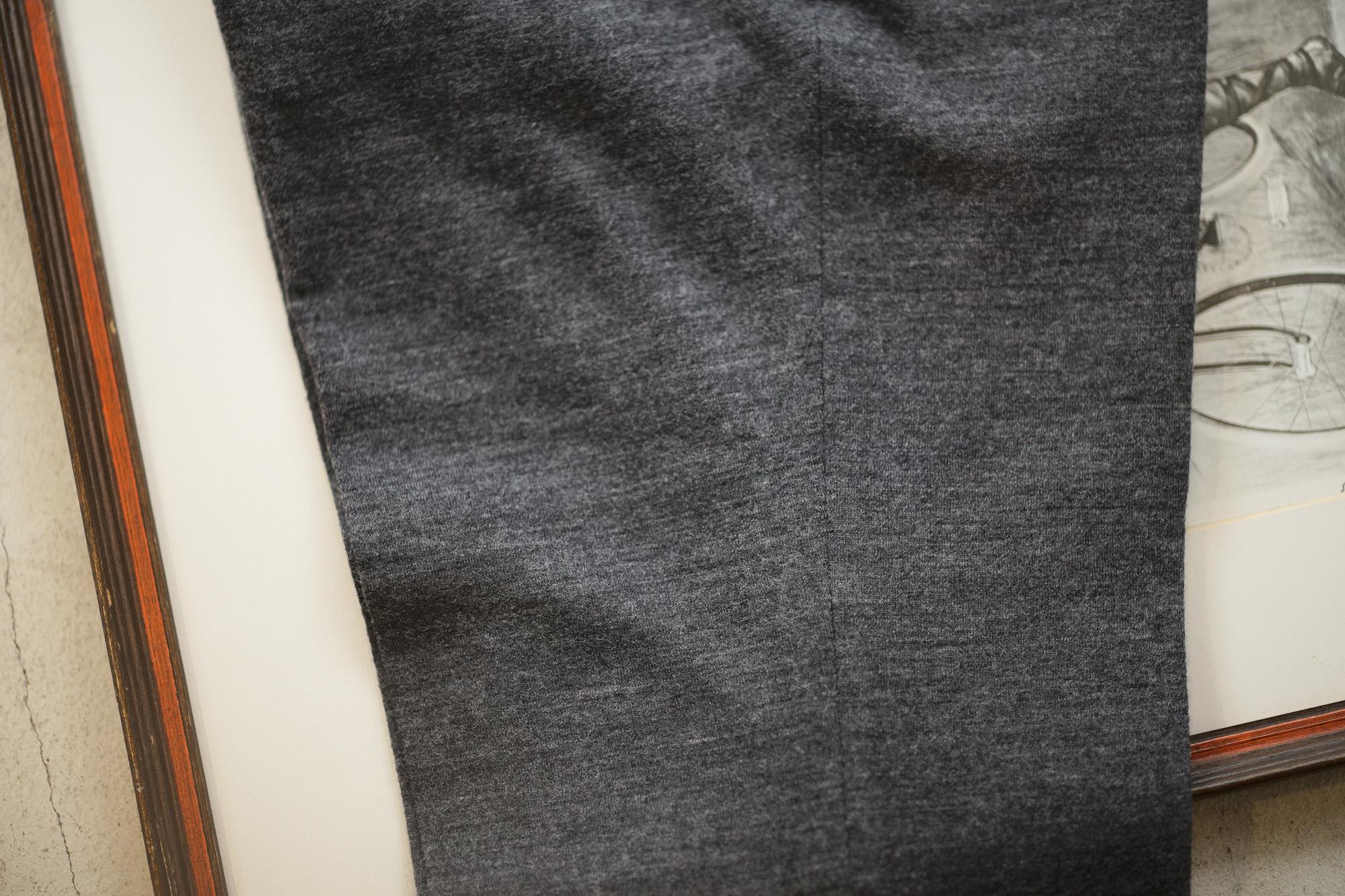 INCOTEX (インコテックス) N35 SLIM FIT (1NG035) FLANNEL JERSEY ストレッチ ウール コットン フランネル ジャージ スラックス MEDIUM GRAY (ミディアムグレー・925) 2018 秋冬新作 愛知 名古屋 alto e diritto アルトエデリット altoediritto