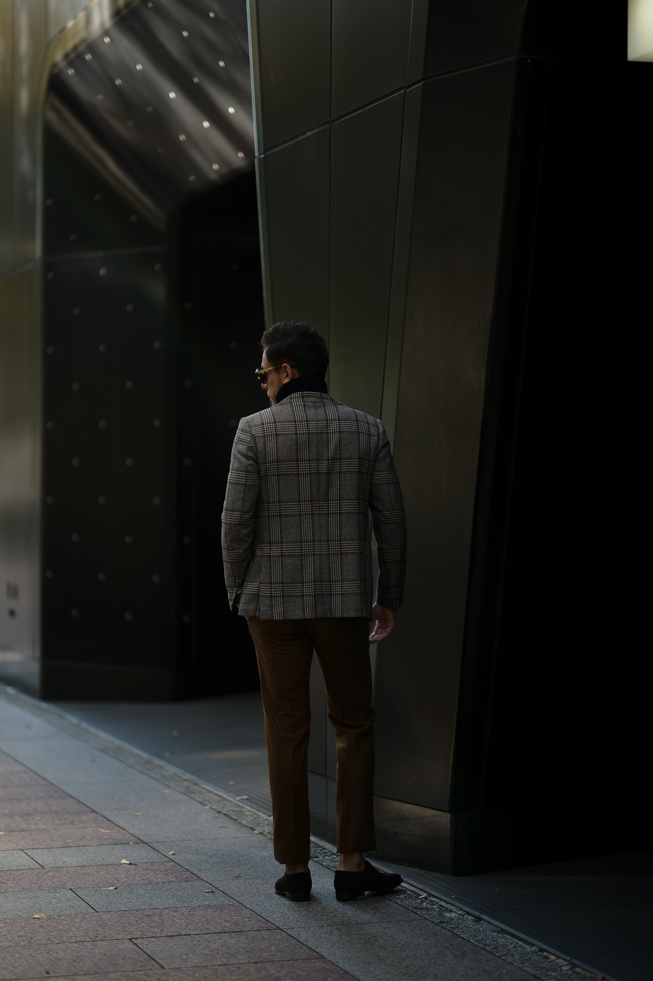 INCOTEX (インコテックス) N35 SLIM FIT (1NT035) SUPER 100'S CARDED FLANNEL フランネル ウール スラックス BROWN (ブラウン・640) 2018秋冬新作 愛知 名古屋 alto e diritto アルトエデリット 茶スラ