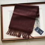 Johnstons (ジョンストンズ) WA16 MUFFLER SCARF Cashmere 100% カシミア マフラー Chocolate (チョコレート・SB7090) Made in Scotland (スコットランド製) 2018 秋冬新作のイメージ