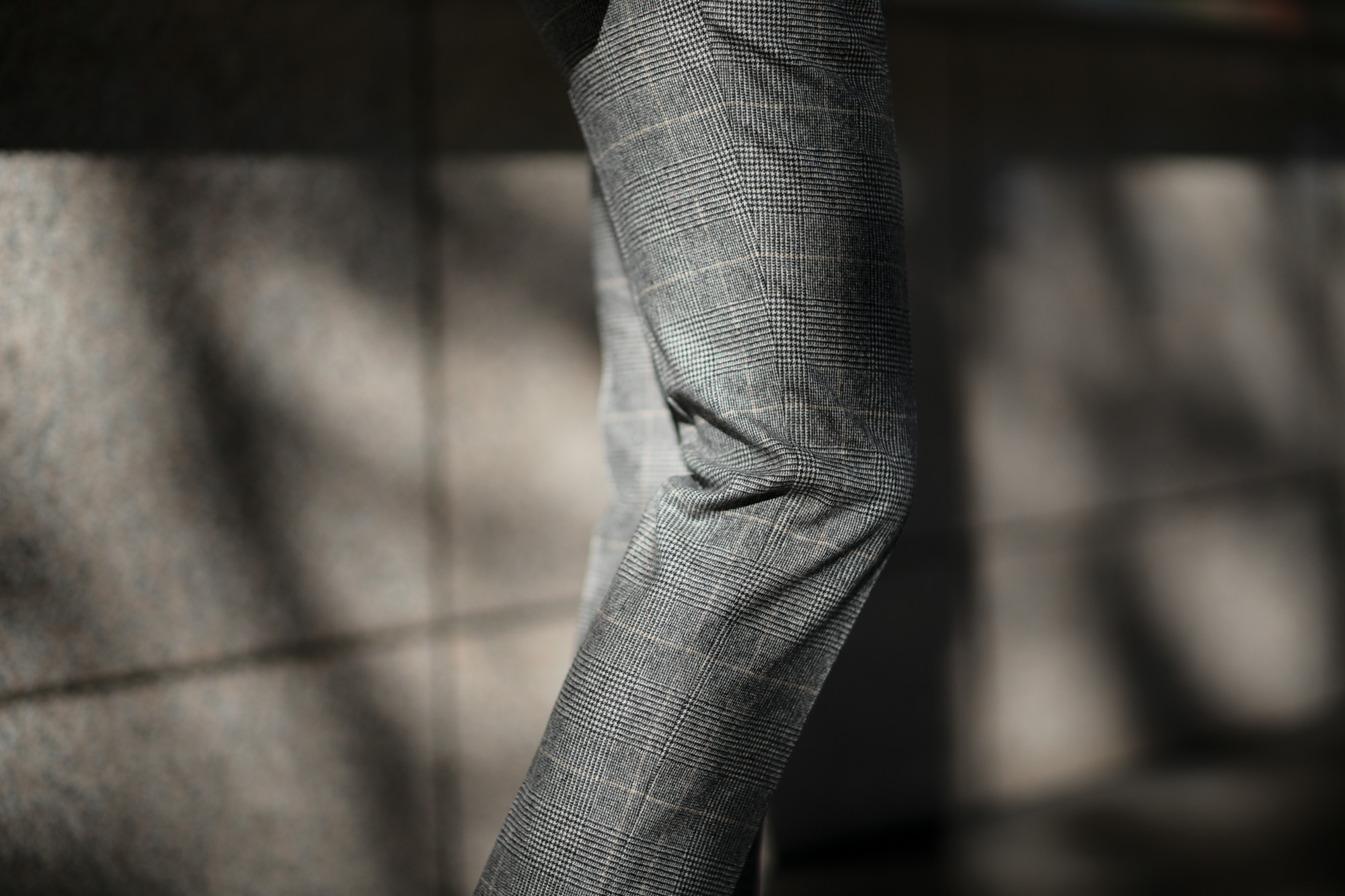 LARDINI (ラルディーニ) SARTORIA (サルトリア) フラノウール生地 ブリティッシュ グレンチェック スーツ GRAY (グレー・11) 2018 秋冬新作 愛知 名古屋 alto e diritto アルトエデリット スーツ チェックジャケット