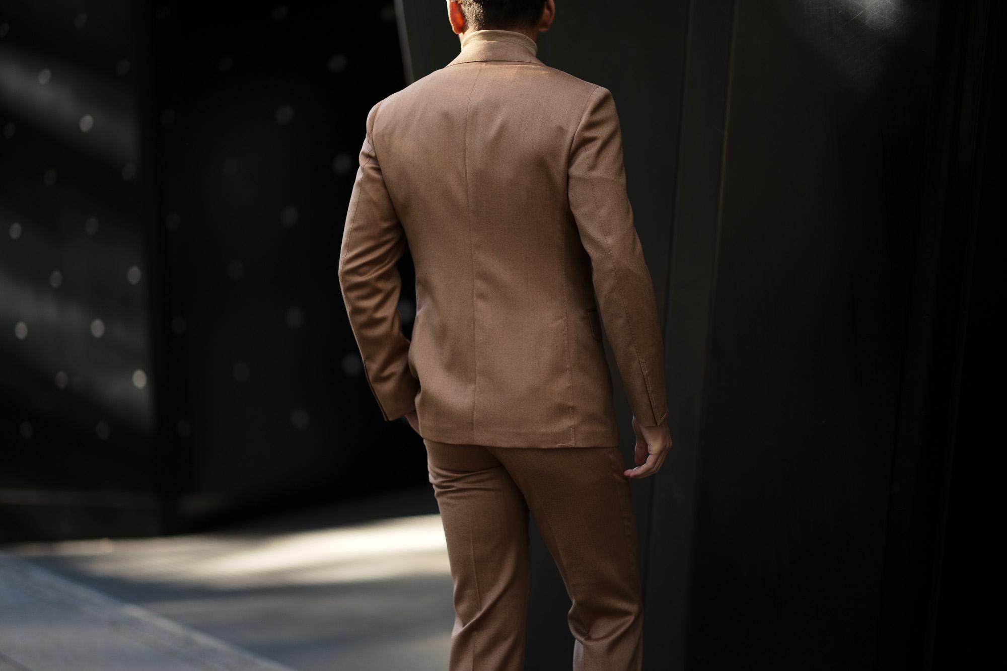 LARDINI (ラルディーニ) SARTORIA (サルトリア) SOLARO ソラーロ 3P スーツ BEIGE (ベージュ・1) Made in italy (イタリア製) 2018 秋冬新作 愛知 名古屋 alto e diritto altoediritto アルトエデリット