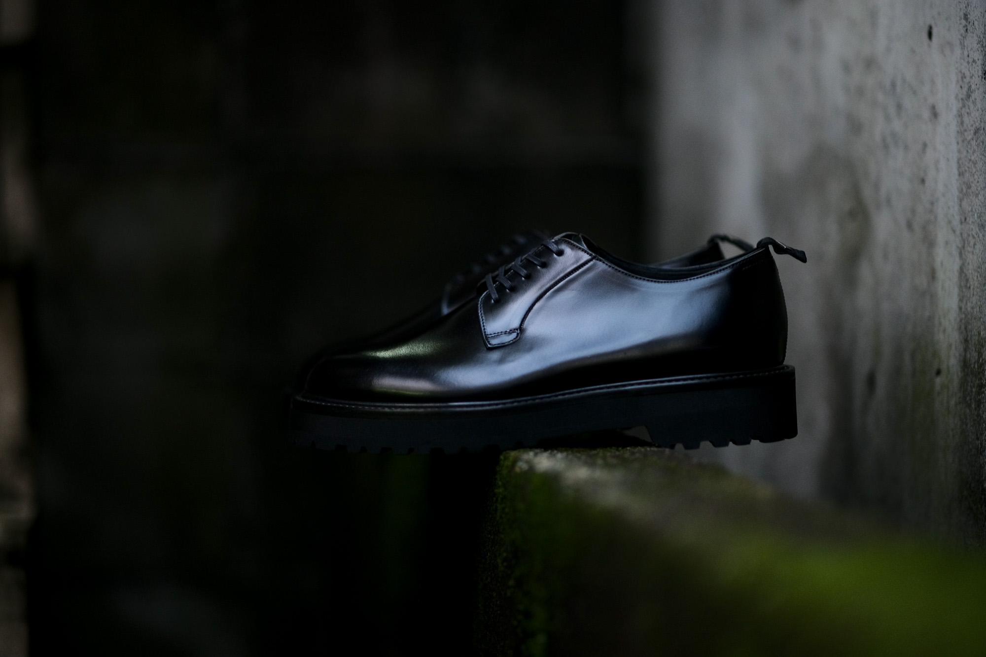 WH (ダブルエイチ) WHS-0010 Plane Toe Shoes (干場氏 スペシャル) Birdie Last (バーディラスト) ANNONAY Vocalou Calf Leather プレーントゥシューズ BLACK (ブラック) MADE IN JAPAN (日本製) 2018 秋冬 【12月01日発売分】【ご予約受付中】愛知 名古屋 alto e diritto altoediritto アルトエデリット