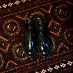 WH (ダブルエイチ) WHZ-0010 Cordovan Plane Toe Shoes (干場氏 スペシャル Zモデル) Birdie Last (バーディラスト) Shell Cordovan シェルコードバンレザー プレーントゥシューズ BLACK (ブラック) MADE IN JAPAN (日本製) 2018 秋冬 【Special限定モデル】【12月01日発売】のイメージ