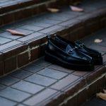 WH (ダブルエイチ) WHZ-0504 Bit Loafer (干場氏 別注 店舗限定 スペシャル モデル) TOOL-442 Last (トゥルー 442 ラスト) ANNONAY Vocalou Calf Leather ビットローファー ALL BLACK (オールブラック・BLK) MADE IN JAPAN(日本製) 2018秋冬 【限定スペシャルモデル】のイメージ