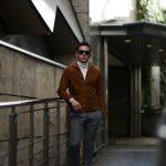 Alfredo Rifujio (アルフレード リフージオ) SS326 CAMOSCIO Summer Suede Leather Shirts サマースウェード レザーシャツ CAMEL (キャメル) made in italy (イタリア製) 2019 春夏 【ご予約受付中】のイメージ