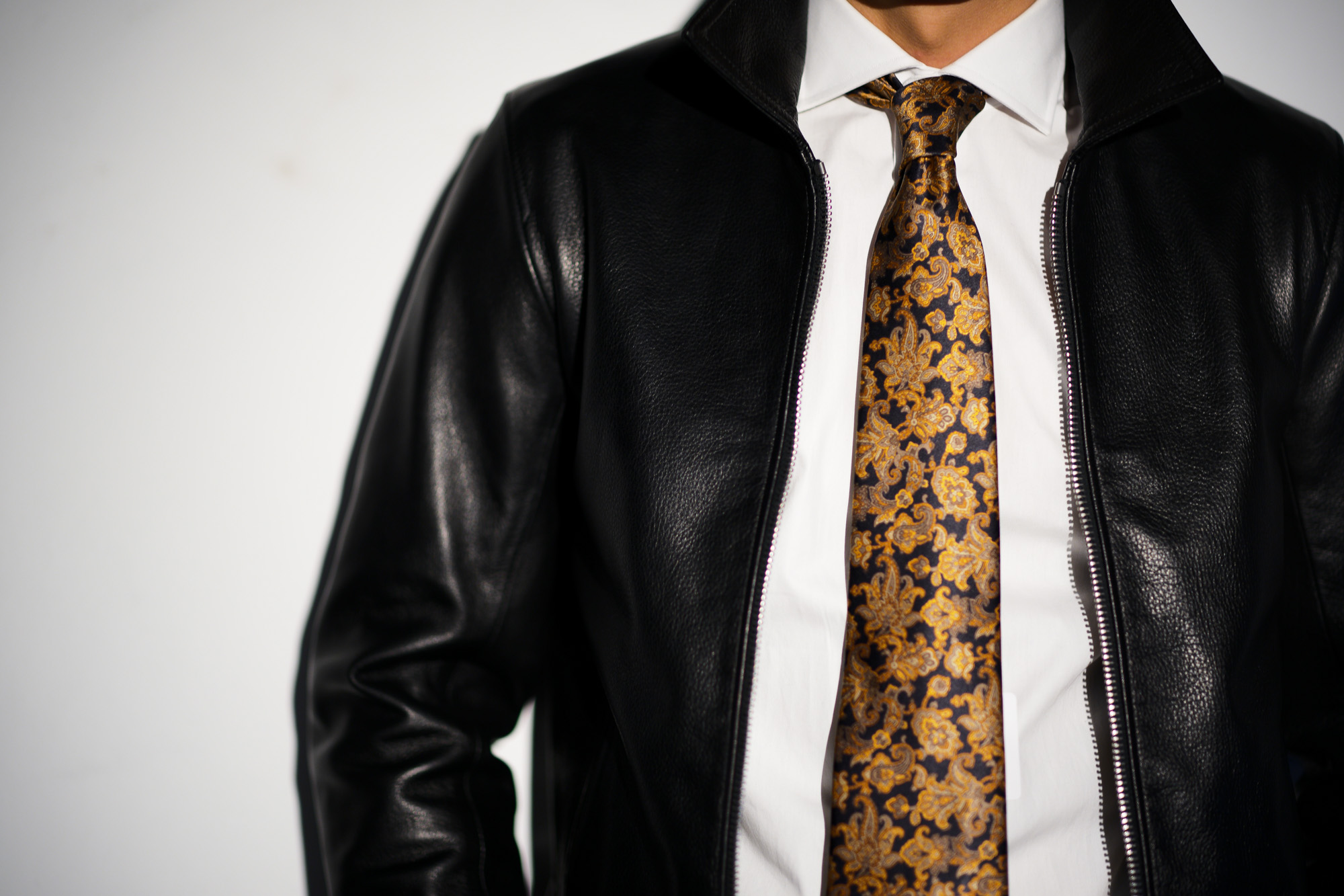 Cuervo (クエルボ) Satisfaction Leather Collection (サティスファクション レザー コレクション) TOM (トム) BUFFALO LEATHER (バッファロー レザー) シングル ライダース ジャケット BLACK (ブラック) MADE IN JAPAN (日本製) 2019 春夏【ご予約受付中】 クエルボ レザージャケット 愛知 名古屋 alto e diritto アルトエデリット セレクトショップ