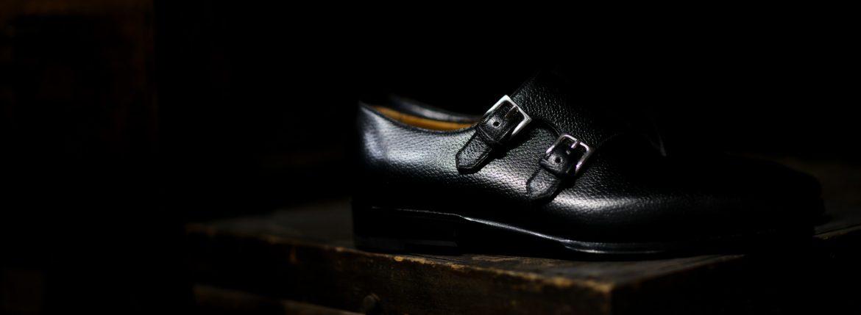 ENZO BONAFE(エンツォボナフェ) EB-36 Double Monk Strap Shoes INCA Leather ダブルモンクストラップシューズ NERO (ブラック) made in italy (イタリア製) 2018 秋冬新作 【Special Model】enzobonafe eb36 エンツォボナフェ altoediritto アルトエデリット