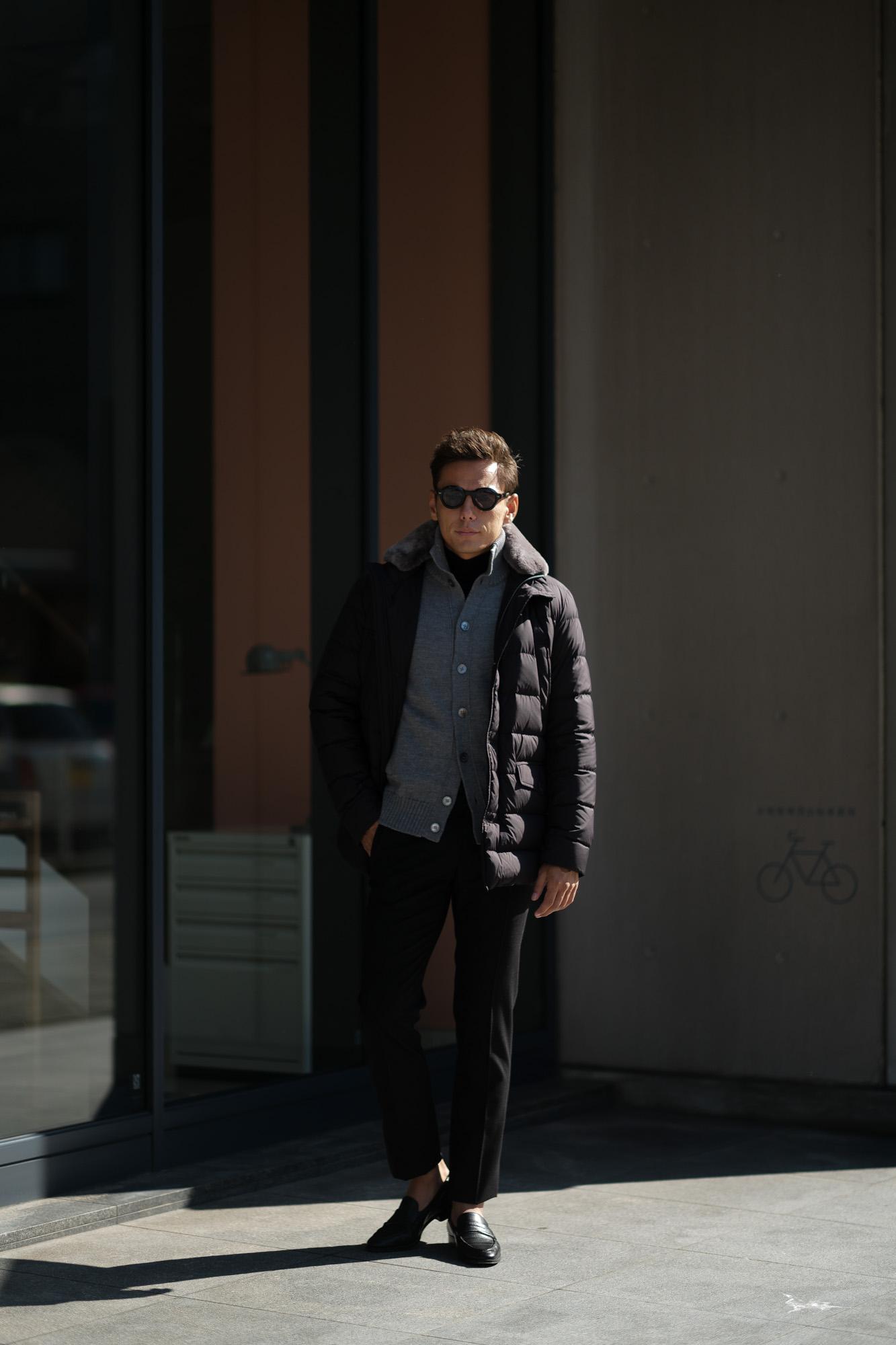 HERNO(ヘルノ) PI0475U N-3B Nylon Down Jacket (ナイロン ダウン ジャケット) POLAR-TECH (ポーラテック) 撥水 ナイロン ダウン ジャケット BLACK (ブラック・9300) 2018 秋冬新作 愛知 名古屋 alto e diritto altoediritto アルトエデリット