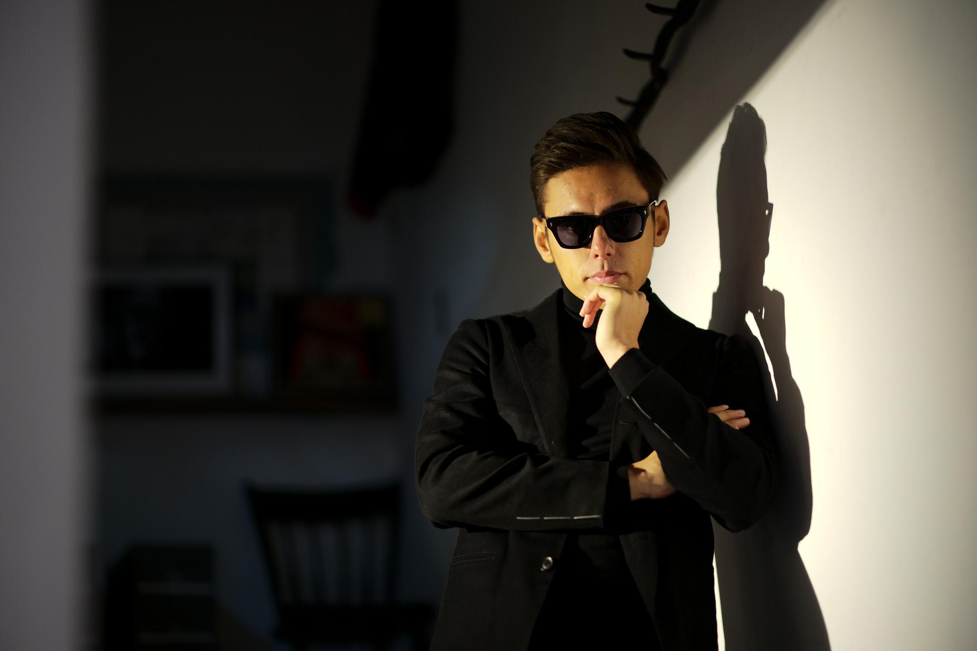 JACQUESMARIEMAGE (ジャックマリーマージュ) DEALAN (ディラン) Bob Dylan (ボブ・ディラン) STERLING SILVER スターリングシルバー ウェリントン型 アイウェア サングラス NOIR 3 (ノワール3) HANDCRAFTED IN JAPAN(日本製) 2019 春夏新作 jacquesmariemage 愛知 名古屋 Alto e Diritto アルト エ デリット