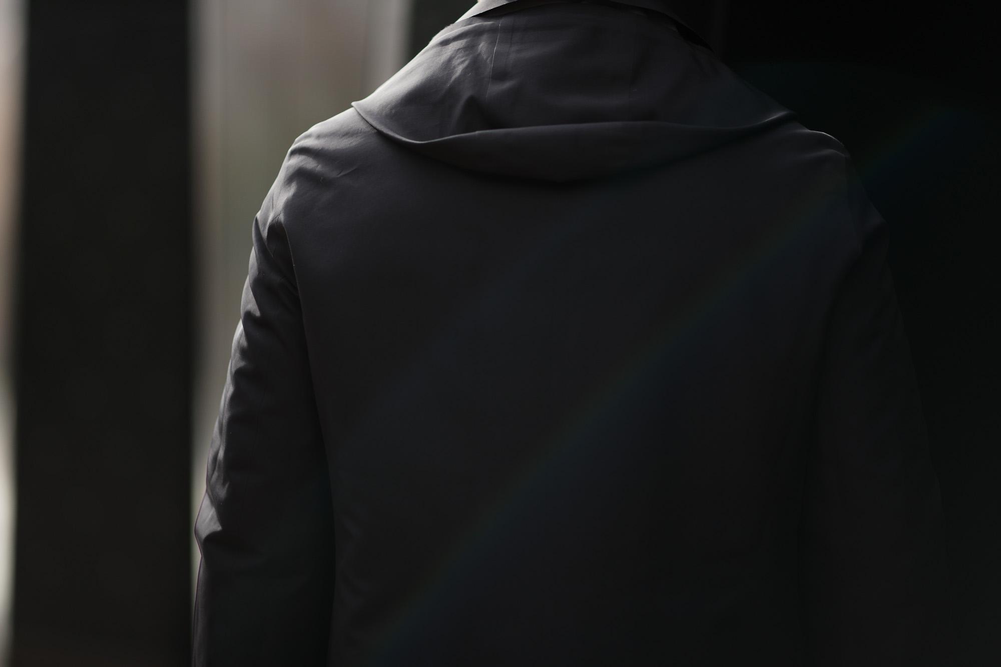 KIRED (キーレッド) CRUZ (クルス) LoroPiana (ロロピアーナ) レーザーカット フーデッド コート BLACK (ブラック・23) Made in italy (イタリア製) 2018 秋冬新作 愛知 名古屋 alto e diritto アルトエデリット altoediritto ダウン