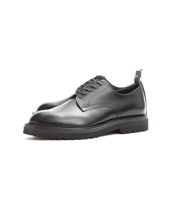 WH(ダブルエイチ) WHS-0006 Plane Toe Shoes  (干場氏 スペシャル モデル) Birdie Last(バーディラスト) ANNONAY Vocalou Calf Leather プレーントゥ シューズ BLACK(ブラック) MADE IN JAPAN(日本製) 2019年 春夏新作【1月下旬分入荷しました】【フリー分販売開始】