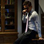 STEFANO RICCI (ステファノリッチ)  PAISLEY TIE (ペイズリータイ) シルク プリント ペイズリー ネクタイ RED×SAX (レッド×サックス) Made in italy (イタリア製) 2018 秋冬新作のイメージ