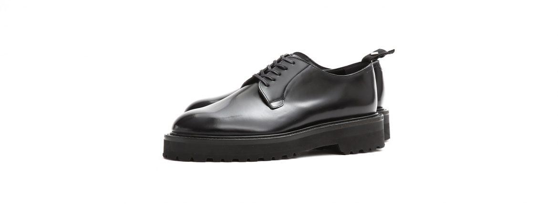 WH (ダブルエイチ) WHZ-0010 Cordovan Plane Toe Shoes (干場氏 スペシャル Zモデル) Birdie Last (バーディラスト) Shell Cordovan シェルコードバンレザー プレーントゥシューズ BLACK (ブラック) MADE IN JAPAN (日本製) 2019 春夏【Special限定モデル】【2019春夏分発売開始します】のイメージ