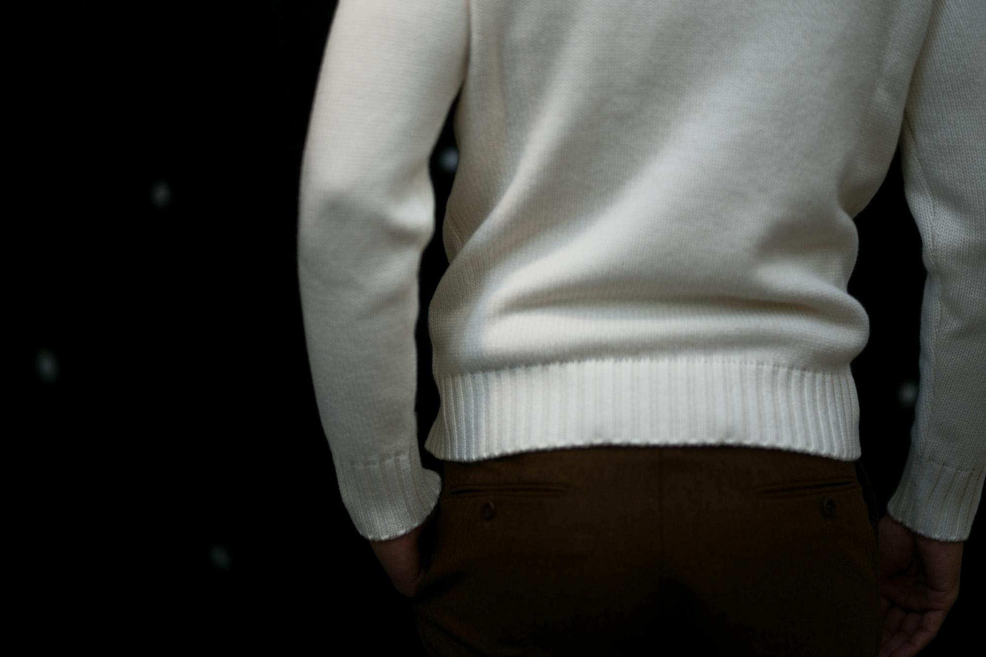 ZANONE (ザノーネ) Cashmere Turtle Neck Sweater (カシミア タートルネックセーター) ミドルゲージ カシミア ニット セーター OFF WHITE (オフホワイト・Z4918) made in italy (イタリア製) 2018 秋冬新作 愛知 名古屋 altoediritto アルトエデリット カシミヤ